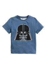 2-pack T-shirts - Blue/Star Wars - Kids | H&M CN 3