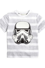 2-pack T-shirts - Blue/Star Wars - Kids | H&M CN 4