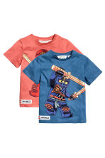 2-pack T-shirts - Blue/Lego -  | H&M 2