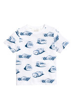2-pack T-shirts - White/Cars - Kids | H&M 3