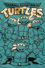 T-shirt con stampa - Turchese scuro/Turtles - BAMBINO | H&M IT 3