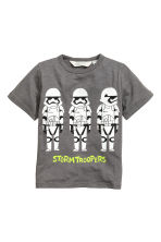 T-shirt con stampa - Grigio scuro/Star Wars - BAMBINO | H&M IT 2