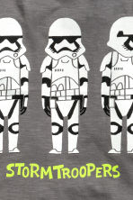 T-shirt con stampa - Grigio scuro/Star Wars - BAMBINO | H&M IT 3