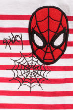 T-shirt avec impression - Blanc/Spiderman - ENFANT | H&M FR 3