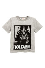 T-shirt avec impression - Gris/Star Wars - ENFANT | H&M CH 2