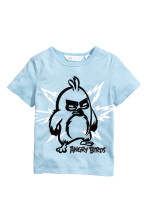 Light blue/Angry Birds