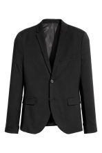 Jacket Skinny fit - Black - Men | H&M 2