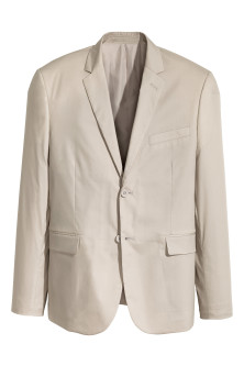 Cotton-blend jacket Slim fit