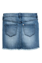 Denim skirt - Denim blue - Kids | H&M CN 3
