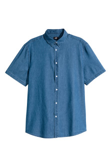 Short-sleeved shirt Slim fit