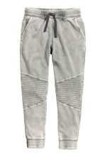 Joggers - Grey washed out -  | H&M CN 2