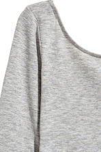 Long-sleeved body - Grey - Ladies | H&M 3