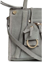 Suede shoulder bag - Grey - Ladies | H&M CN 3