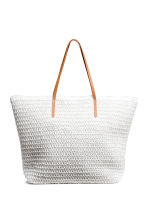 Shopper - White - Ladies | H&M 1