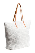 Shopper - White - Ladies | H&M 2