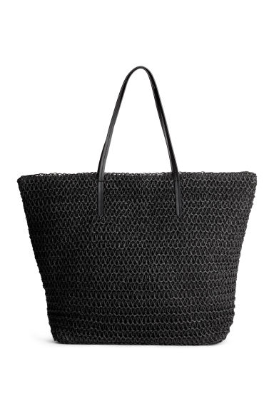 Shopper - Black - Ladies | H&M 1