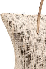 Shopper - Light beige/Glittery -  | H&M 3