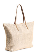 Shopper - Light beige/Glittery -  | H&M 2