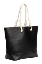 Shopper and clutch - Black - Ladies | H&M 2