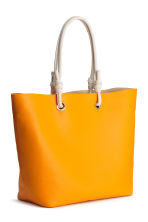 Shopper and clutch - Orange - Ladies | H&M 2