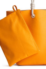 Shopper and clutch - Orange - Ladies | H&M 3