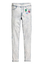 Treggings - White/Acid -  | H&M 2