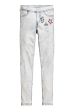 Treggings - White/Acid -  | H&M 3