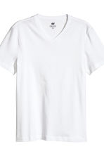 T-shirt Regular fit, 3 pz - Blu scuro/bianco -  | H&M IT 4