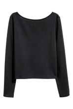 Top in jersey - Nero - DONNA | H&M IT 2