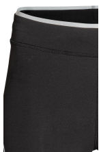 Compression fit running tights - Black - Ladies | H&M CN 4