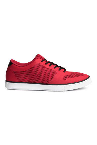 Mesh trainers - Red - Men | H&M CN 1