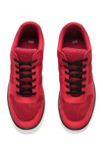 Mesh trainers - Red - Men | H&M 2