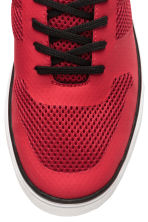 Mesh trainers - Red - Men | H&M CN 3