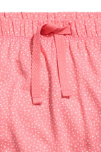 Jersey trousers - Coral pink -  | H&M 2