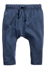 Pantaloni in jersey - Blu scuro -  | H&M IT 1