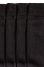 5-pack socks - Black - Men | H&M CN 3