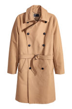 Cotton trenchcoat - Dark beige - Men | H&M CN 2