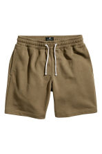 Sweatshirt shorts - Khaki - Men | H&M CN 2