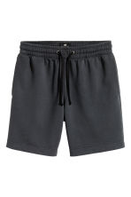 Sweatshirt shorts - Dark grey marl - Men | H&M CN 1