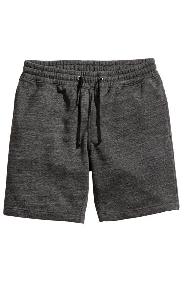運動短褲 - Dark grey marl - Men | H&M