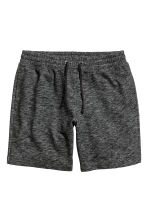 Sweatshirt shorts - Black marl - Men | H&M CN 2