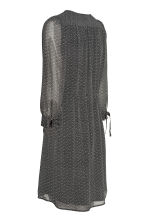 Wrap dress - Black/Patterned -  | H&M 3