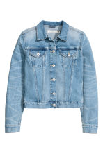 Denim jacket - Denim blue - Ladies | H&M CA 3