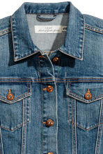 Denim jacket - Dark denim blue - Ladies | H&M 3