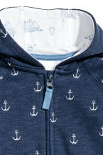 Sweatshirt all-in-one suit - Dark blue/Anchor - Kids | H&M 2