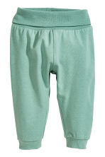 Body con leggings e berretto - Bianco/verde menta -  | H&M IT 2