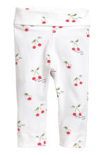 Bodysuit with trousers and hat - White/Cherry -  | H&M CN 2