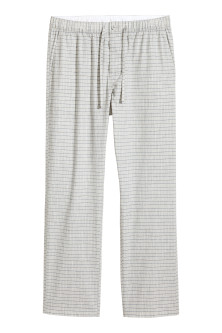 Patterned pyjama bottoms