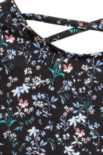 長袖上衣 - Black/Floral - Kids | H&M 2