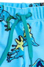 Patterned swimming trunks - Turquoise/Dinosaurs - Kids | H&M 2